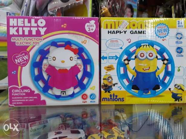 Minions and hello kitty toys for girls