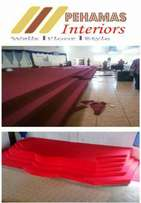 Red carpets, office carpets, supply & installation..