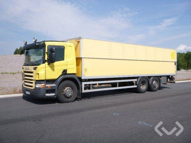 Scania P270LB (Export only) 6x2*4 Box (height / adjustable + tail - 2019