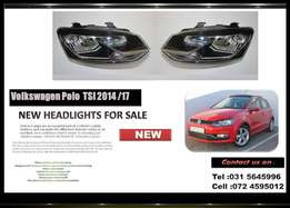 Vw Polo 1.2 TSI Hatchback 2014/17 BRAND NEW HEADLIGHT FOR SALE R1350