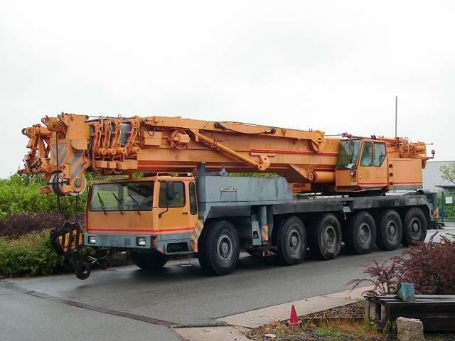 Liebherr LTM 1200 Main Boom 54,5 mtr + Fix jib 22 Luffing jib 63 mtr - 1991