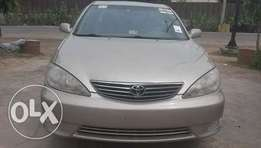 Toyota Camry XLE Gold Color