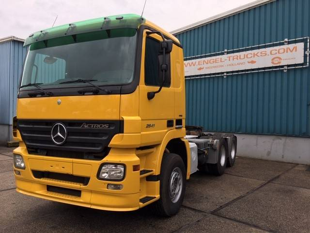 Mercedes-Benz ACTROS 2641LS 6x4 (EPS WITCH CLUTCH / REDUCTION AXLES / H... - 2007