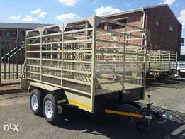3m Cattle Trailer For sale, Strong, Braked, Papers and Veridot Incl!!