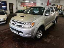 2007 Toyota Hilux 3.0 D4D D/Cab with ONLY 147000kms, Call Sam