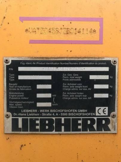 Liebherr L580 2+2 **BJ 2006*13850H ** Waage - 2006 - image 29