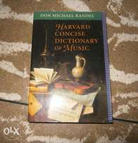 Harvard Concise Dictionary of Music by Don Michael Randel