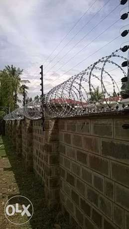 Electric fence,razor wire,security alarms,CCTV systems installation. Kileleshwa - image 1