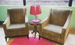 Classic Accent chairs imported from Germany at 25k