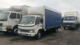 Toyota Dyna 4T Curtain Side Available