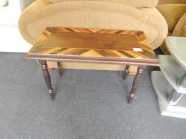Solid Wood Brown Table