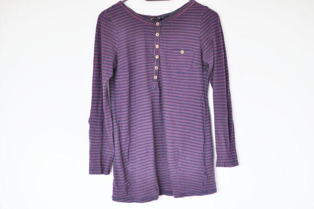460cfb7530 h m mama luźna bluzka w paski S M 36 38 pasiak długi rękaw ciążowa Wrocław  - image