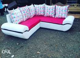5 seater L shaped seat best quality fabric