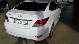 Hyundai Accent 1.6 Automatic 2014 Low mileage