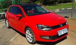 2013 Model VW Polo 6 1.6 Comfortline With SUN/ROOF For Sale