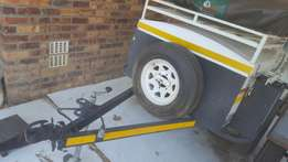 4x4 bush venter trailer