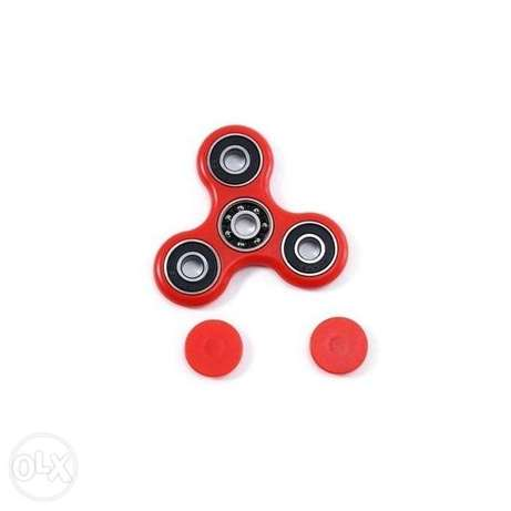 Generic Hand Spinner EDC Finger Toy for ADHD Autism Learning - Red By Nairobi CBD - image 1