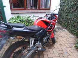 2007 Honda CBR125R with upgraded Athena Head and shorty exhaus