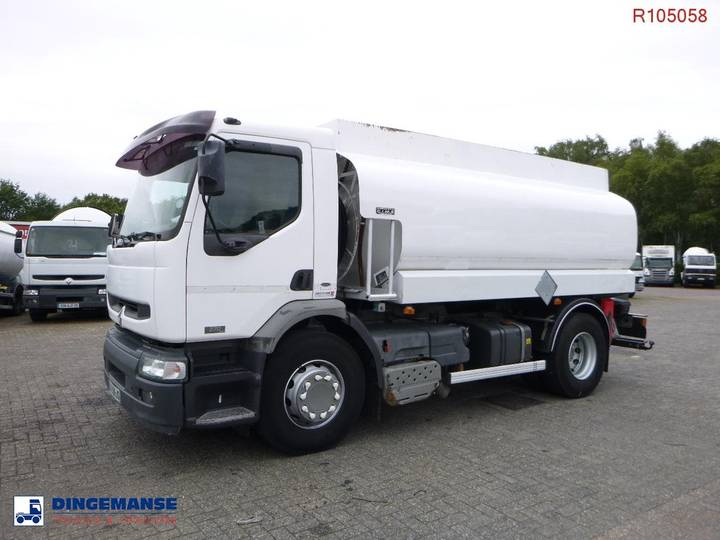 Renault Premium 270 dci 4x2 fuel tank 13.5 m3 / 3 comp - 2002