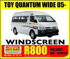 Quantum windscreen specials