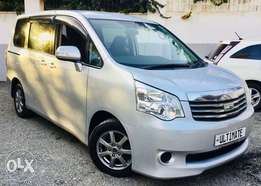 Toyota Noah silver just arrived at 1.5m
