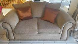 2 upholstered living room coaches