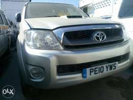 Toyota hilux double cabin for sale