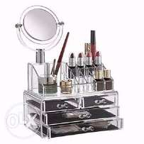 Make Up Organizer + Mirror