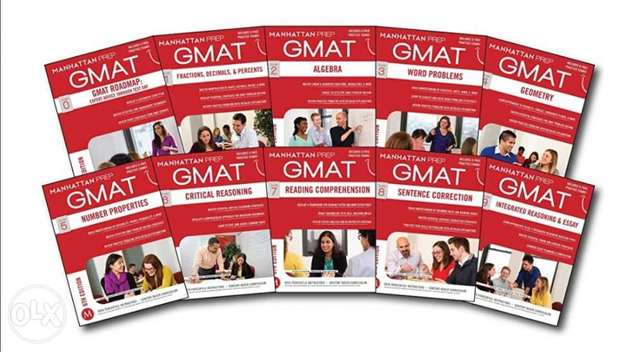 GMAT Manhattan Prep Complete Set