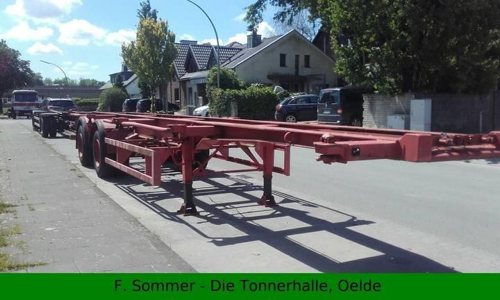 Schmitz Cargobull SAnh. f. Container 40 - 1979