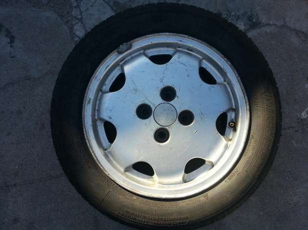 """mushrooms 14"""" with tyres Athlone - image 1"""
