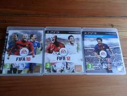 Ps3 Games Fifa 10 - 12 and 13 Selling R150 each