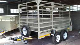 Big Cattle Trailer for Sale, ALL included, In stock !