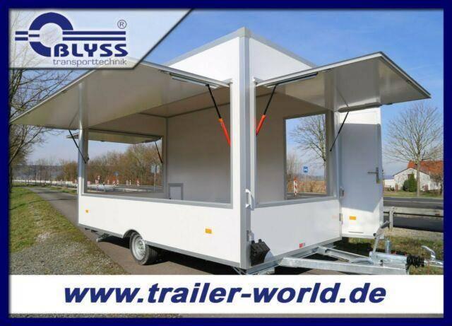 Blyss Verkaufsanhänger Anhänger 420x200x230cm 1300kgGG