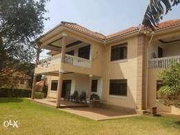 5 bedroom mansion for rent at Kololo