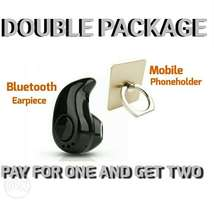Bluetooth Earpiece and Phone holder