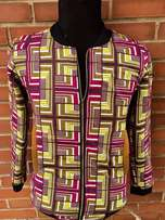 Exquisite Ankara Jacket
