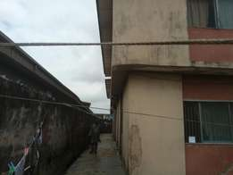 One storey building with four units of 3bedroom flats for sale