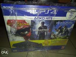 Playstation 4 Slim + 3 Games and 3 Months PS Plus Bundle (Brand New