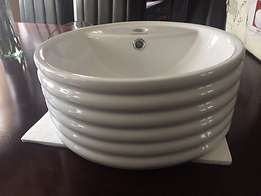 Brand New Round Ringed Basins for Sale!