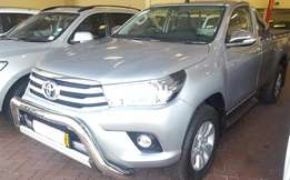 Toyota Hilux Single Cab 2.8 4x4 2017