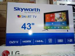 "Brand new 43"" skyworth SMART digital TV on sale!"