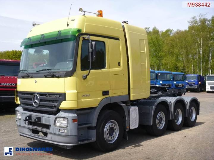 Mercedes-Benz Actros 4160 8X4 250 ton manual, torque converter - 2005
