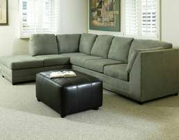 Greenwich L sectional sofas.