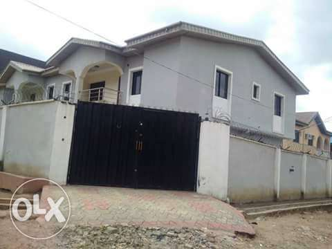 Solid 2Wings Of 4Bedroom Duplex With BQ At Bucknor Estate Ejigbo Isolo - image 1