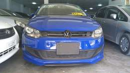 Volkswagen polo New shape KCL number 2011 model loaded with alloy