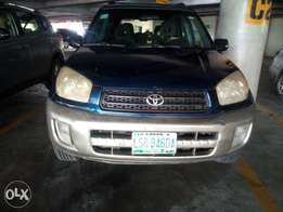 Neatly uses 2001/02 Toyota Rav4 for sale