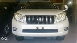 White Toyota Landcruiser Prado Available for Sale