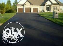 Tar surfaces, drive way,tennis courts