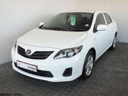 2015 Toyota Corolla 1.6 Quest Plus Manual